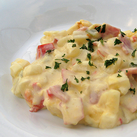 cheesy ham and potato cass 2 450