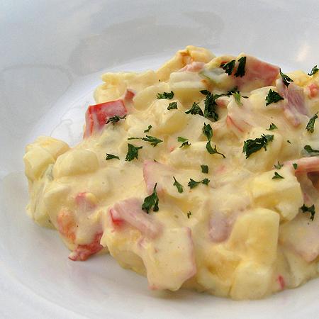 cheesy ham and potato cass 2 450