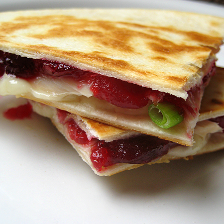 turkey cran quesadilla 3 450
