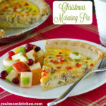 Christmas Morning Pie | realmomkitchen.com