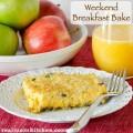 Weekend Breakfast Bake   realmomkitchen.com