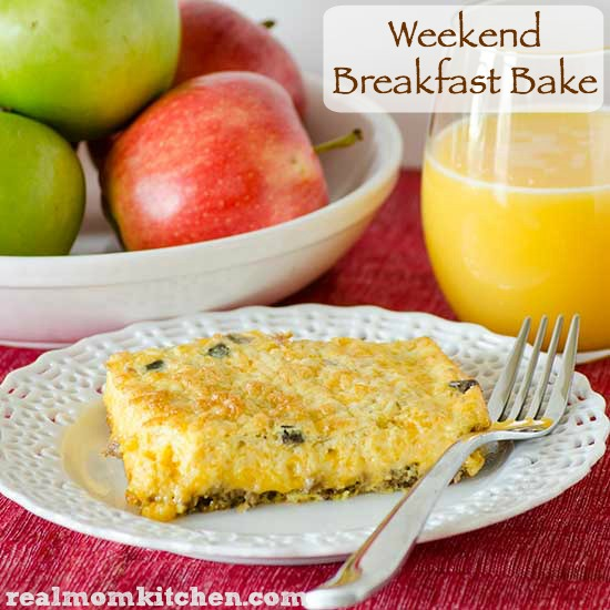 Weekend Breakfast Bake | realmomkitchen.com