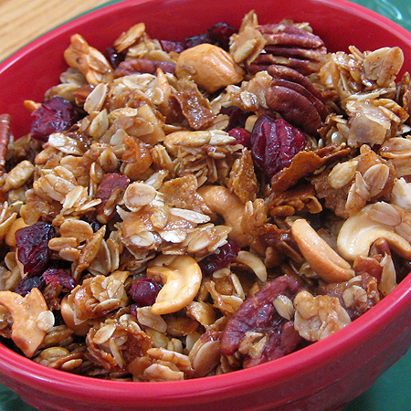 Microwave Granola plus Gifts from the Kitchen