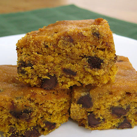 Pumpkin Chocolate Chip Squares, Brownie Bites and more | Real Mom ...