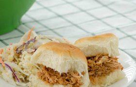 Pulled Chicken Slider Sandwiches | realmomkitchen.com