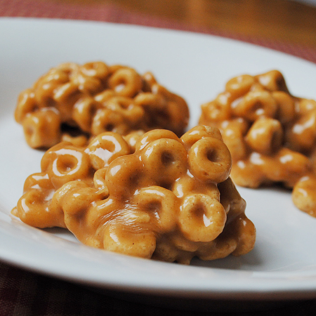 picture of cheerio treats