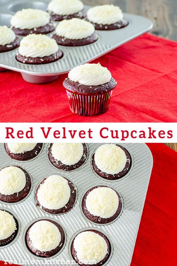 Red Velvet Cucpakes | realmomkitchen.com