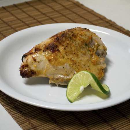 Citrus Garlic Roast Chicken