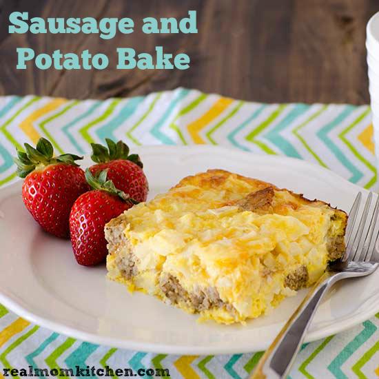 Sausage and Potato Bake | Real Mom Kitchen