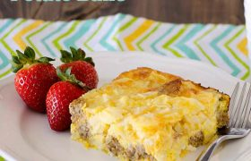 Sausage and Potato Bake | realmomkitchen.com