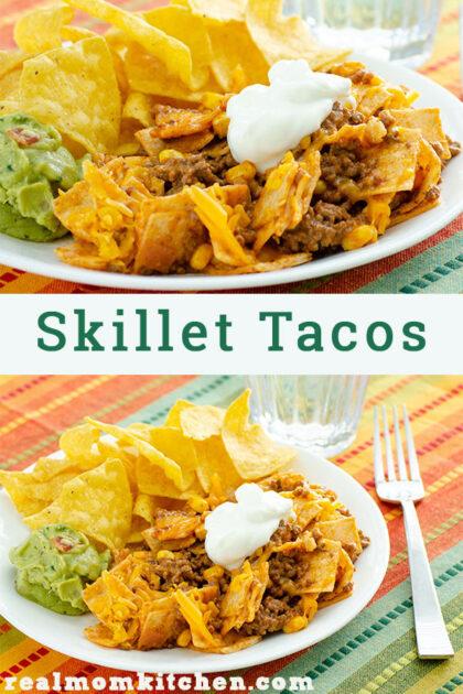 Skillet Tacos | realmomkitchen.com