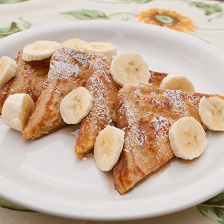Fluffy French Toast (version one – my favorite)