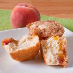 Mini Peach Streusel Coffee Cakes   realmomkitchen.co