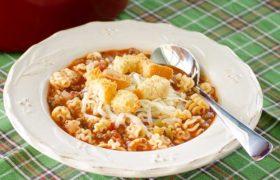 Taste Like Lasagna Soup | realmomkitchen.co
