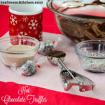 Hot Chocolate Truffles | realmomkitchen.com