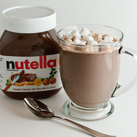 Nutella Hot Chocolate | Real Mom Kitchen