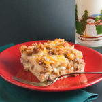 Sausage Apple Overnight Breakfast Casserole | realmomkitchen.com