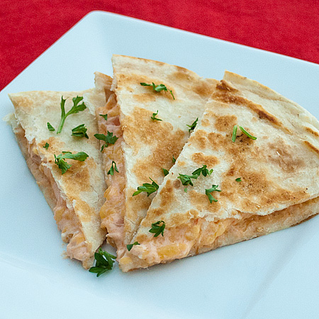 Cream Cheesy Quesadillas | Real Mom Kitchen