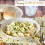 Creamy Chicken and Noodles | realmomkitchen.com