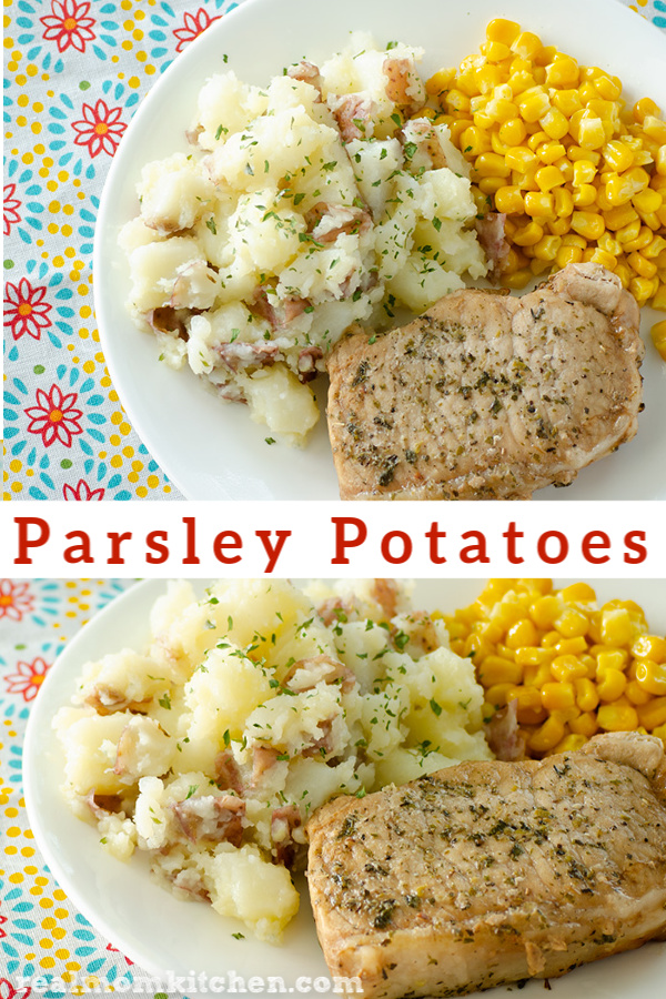 Parsley Potatoes | realmomkitchen.com