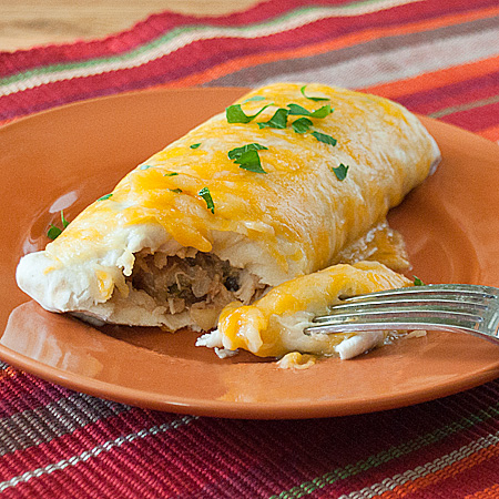 Pineapple Chicken Burritos