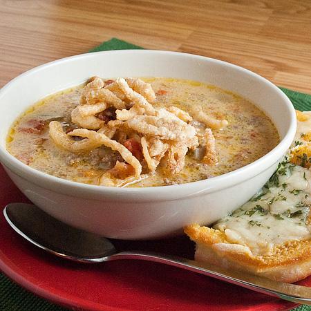 Onion And Bacon Soup Recipe — Dishmaps