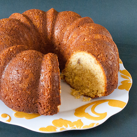 Banana Bread Bundt