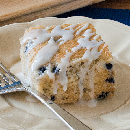 Lemon Blueberry Coffee Cake | Real Mom Kitchen
