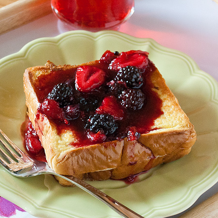 Citrus-Berry Stuffed French Toast | Real Mom Kitchen