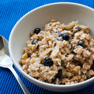 Blueberry-and-Walnut-Baked-Oatmeal