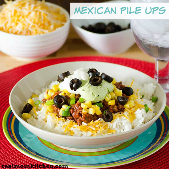 Mexican Pile Ups | realmomkitchen.com