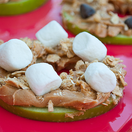 Apple Pizza Marshmallows