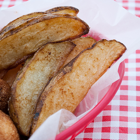 Oven Roasted Potato Wedges | realmomkitchen.com