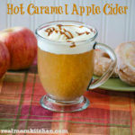 Hot Caramel Apple Cider | realmomkitchen.com