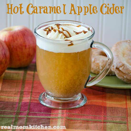 hot caramel apple cider ingredients 8 cups or ½ gallon apple cider ...