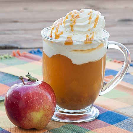 Hot Caramel Apple Cider | Real Mom Kitchen