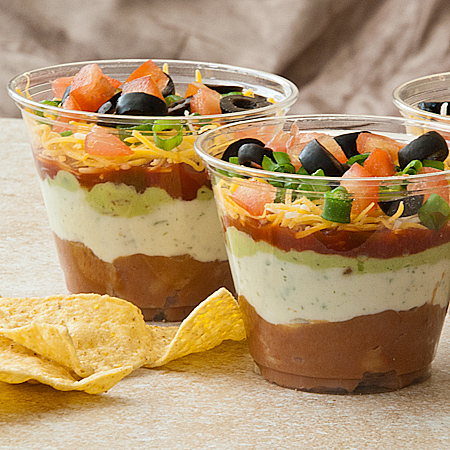 dip seven layer dip recipe individual tex mex seven layer seven layer ...