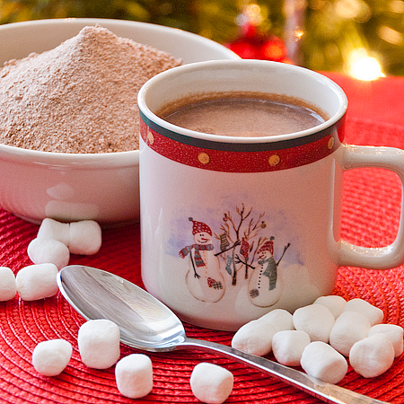 Homemade Hot Chocolate Mix Recipe With Coffee Creamer