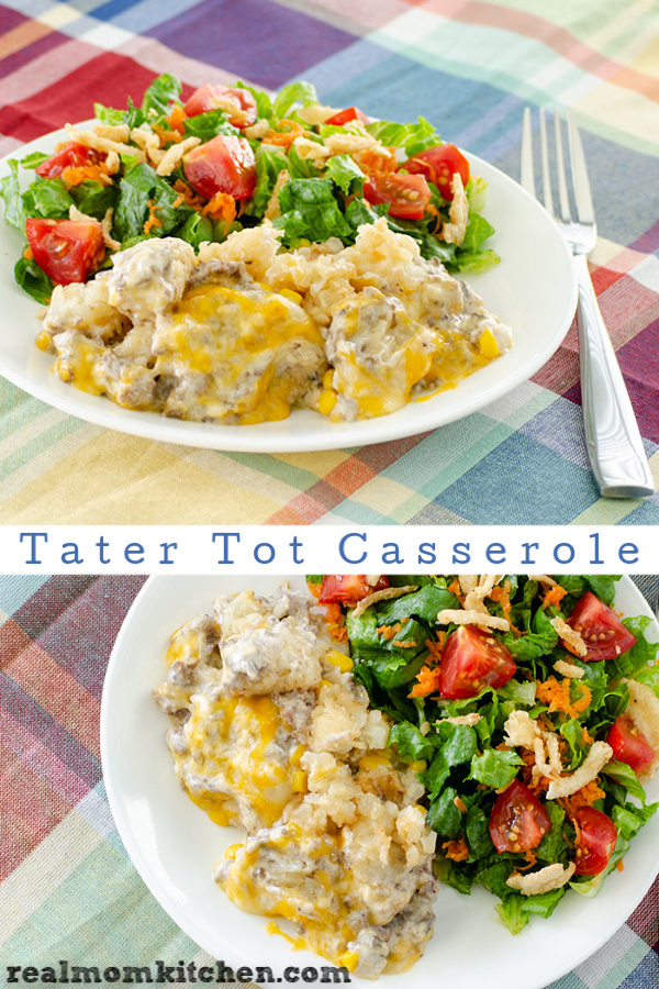 Tater Tot Casserole | realmomkitchen.com