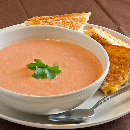 Thick and Creamy Tomato Soup | Real Mom Kitchen