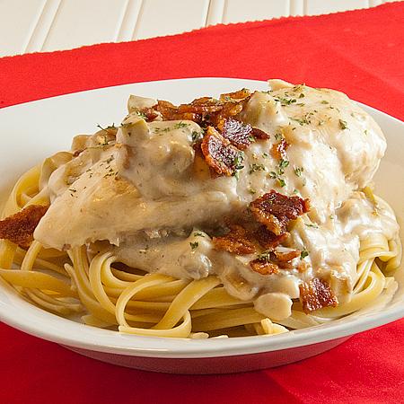 Once Upon a Run: Recipe- Creamy Mushroom Chicken