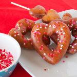 Heart Shaped Glazed Doughtnuts | realmomkitchen.com