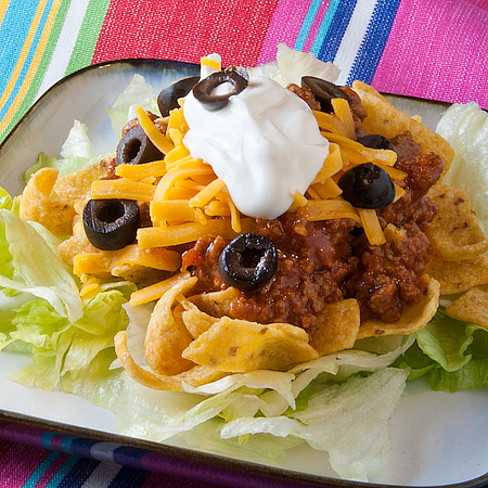 Hot Taco Salad | realmomkitchen.com