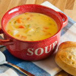 Vegetable Cheese Soup | realmomkitchen.com