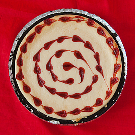 White Chocolate And Raspberry Heart Cheesecake | Real Mom Kitchen