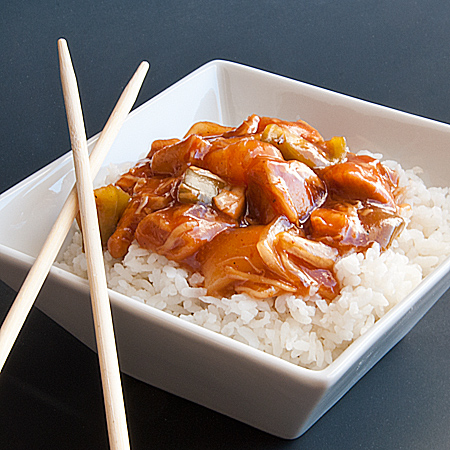 Slow Cooker Sweet and Sour Chicken | Real Mom Kitchen