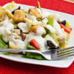 Creamy Pesto Salad Dressing | realmomkitchen.com