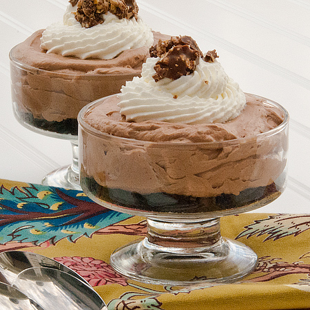 Mini No Bake Nutella Cheesecake 2