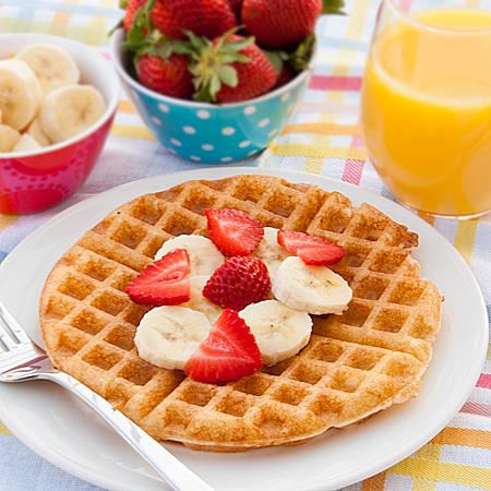 Tutti Frutti Waffles