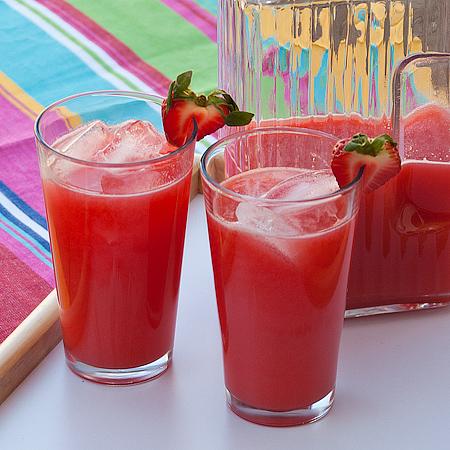Homemade Strawberry Lemonade Recipes — Dishmaps